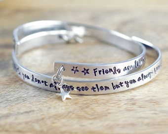Gift for Friend, Friends are Like Stars, Best Friends Gift, BFF Gift, Friendship, Long Distance Friendship, Birthday Gift
