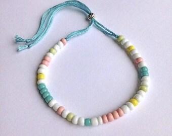 bohemian bracelet, seed bead bracelet, boho jewelry, hippie bracelet