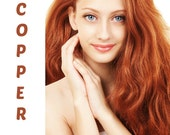 Henna Maiden Captivating Copper 100% Natural Chemical Free Hair Coloring (803)
