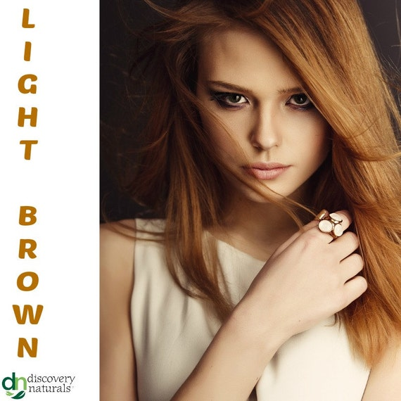 Henna Maiden Light Brown 100% Natural Chemical Free Hair Coloring (800)