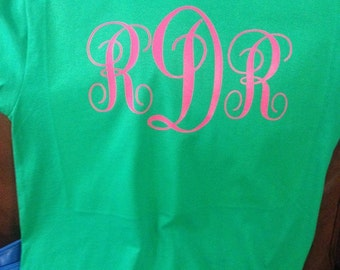 Personalized Initial t-shirt