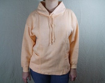 Vintage Soft Peach Sweatshirt