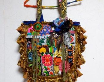 Bohemian Vintage Patchwork Tote bag