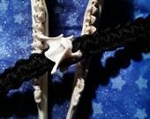 bone & paracord bracelet. vertebra.unisex bracelet.