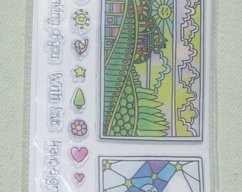 Coloring Clear Stamps By Hampton Art