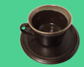 Mikasa Stoneware  - Ultima Plus Cup & Saucer - 4 Available