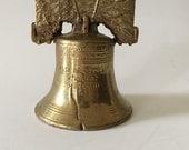 Brass Liberty Bell, brass bell, historical bell