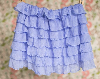 Periwinkle Ruffle Skirt | Spring skirts | Size 2T, 3T, 4T, 5 | Ready to Ship SALE