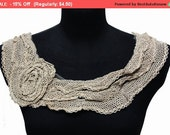 SALE 3 Options Crochet Knitted Collar for Shirt Blouse Dress