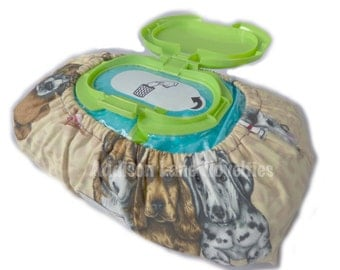 Lazy Beach Dog Bulk Baby Wipe Cover