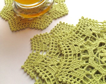 Coaster Small Doily Sewing Supply Applique Home Decoration Crochet by ArtisticNeedleWork