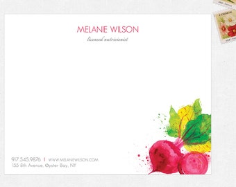 nutritionist dietitian personal stationery - FREE UPS ground shipping