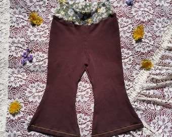 Baby Bell Bottoms- size 9-12 months