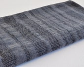 Turkish Towel Peshtemal towel Cotton Peshtemal Stone washed wicker striped dark grey Towel pure soft