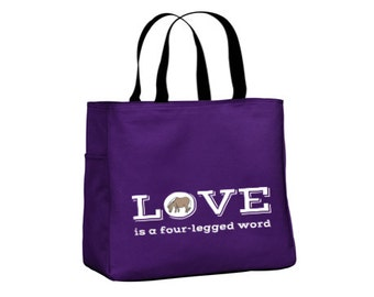SALE Shipping Included - Pony Tote Carry All (Purple)