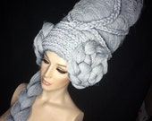 READY TO SHIP Marie Antoinette wig headdress headpiece fantasy burlesque french baroque roccoco