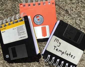 Floppy Disc Notepad -- Tech Vintage Passwords Tablet Notebook Geekery GeekChic Geek Chic Nerd Computer Programmer Engineer Silicon Valley