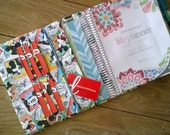 Planner Cover Erin Condren Plum Paper Planner cover case Made to Order