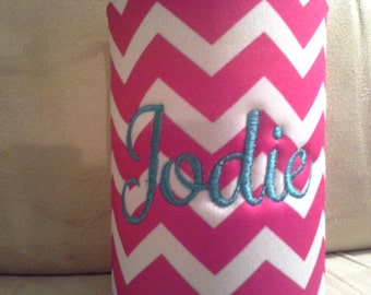 Personalized beverage cooler for bottle