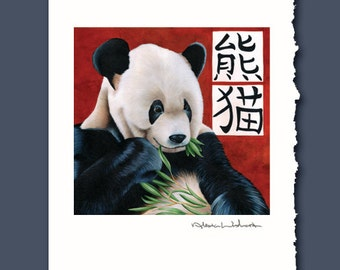 Chinese Buffet Greeting Card by Alicia Wishart