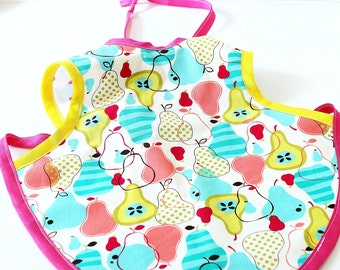 Baby Bib/Apron Sizes 6-18m and 2T-3T