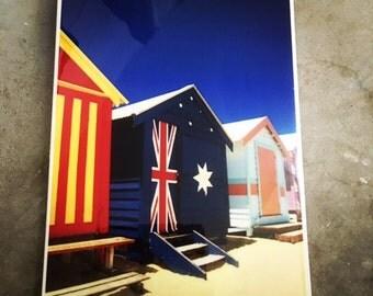 Australia Day Melbourne Brighton Beach Wall Tile