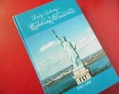 Vintage Desserts Cookbook Lady Liberty Celebrity Desserts Telephone Pioneers Ellis Island