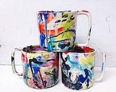 Custom Wacky Mugs Set of 4 Made to Order