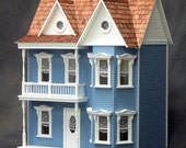 Princess Anne Style Victorian Dolls House Kit, Scale One Inch