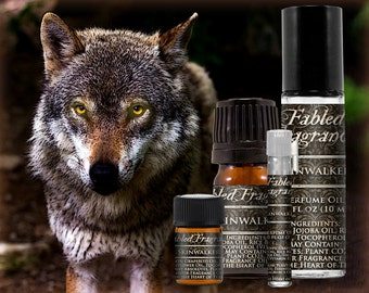 SKINWALKER - Perfume Oil with Sage, Pinion Pine, Black Musk, Nagarmotha - VEGAN Solid Perfume, Native American, Ships Out in 4-7 Days