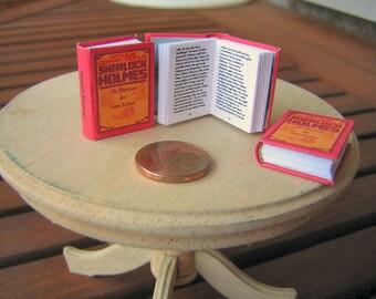 Sherlock Holmes Miniature book 1/12