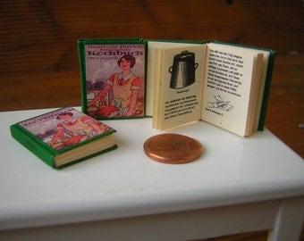 Practical Cookbook Miniature book 1/12