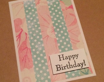 Birthday Greeting Card **READY TO SHIP**