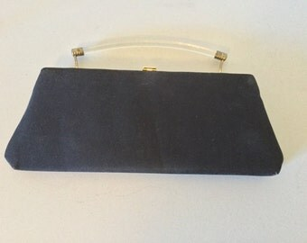 Harry Levine black cluch bag or purse