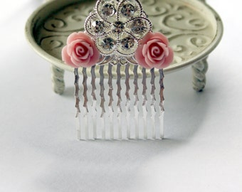 SALE High quality Romantic Inspired Hair Comb - Wedding - Gift - Jewelry - Hair Accessory