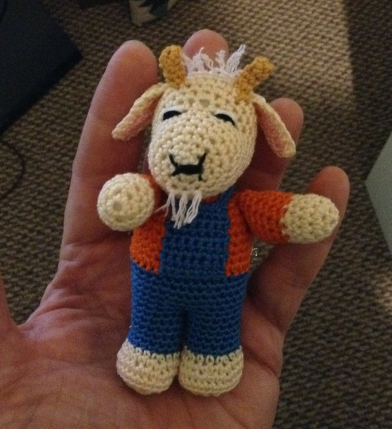 Crochet Billy Goat
