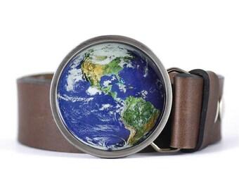 Planet Earth Belt Buckle, America belt buckle, Map belt buckle, women's belt buckle, men's belt buckle