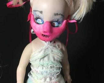 pink hannibal mask for living dead dolls horror