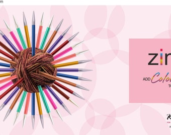 ZING dpn from KnitPro 15 cm length