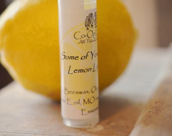 Some Of Your Beeswax Lemon Lip Balm