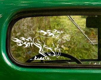 Horse Decal, Running Horse Decal, Horse Sticker, Car Decal, Vinyl Sticker, Laptop Sticker, Vinyl Decal
