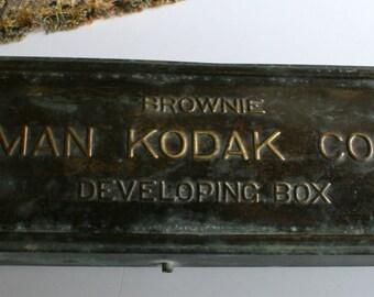 Eastman Kodak Brownie Developing Box