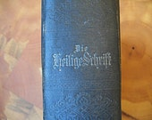 1880's Family Bible in German