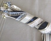 Wedding Wands Quadruple Ribbon With Bell