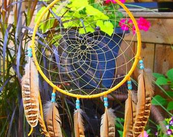 Extra Large Handmade Apache Dream Catcher - dreamcatcher