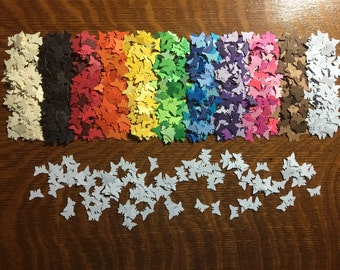 White Butterfly Paper Confetti (quantity of 150) Party Decor Punch Die Cuts Small