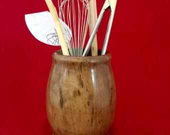 Maple Kitchen Utensil Jar SP16
