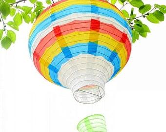 Hot Air Balloon - Hot Air Balloons Decorations Colourful Paper Lanterns 12  inch ( Weding Favor Birthday Decor u0026