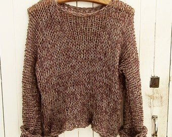 Knitted unique Sweater