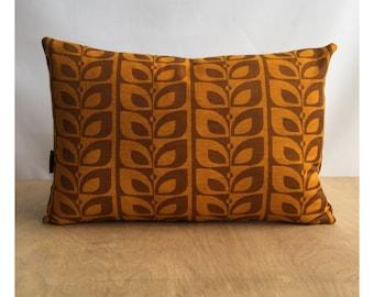 Bolster Cushion Cover Orginal Vintage 70s Fabric